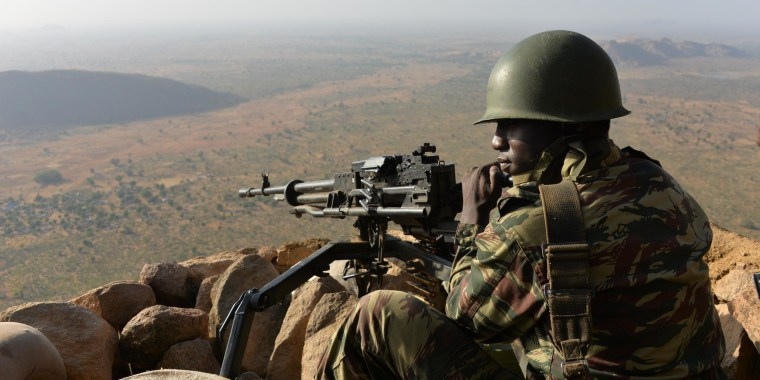 Image: CAMEROON-NIGERIA-UNREST-ISLAMISTS-ECCAS-NIGER