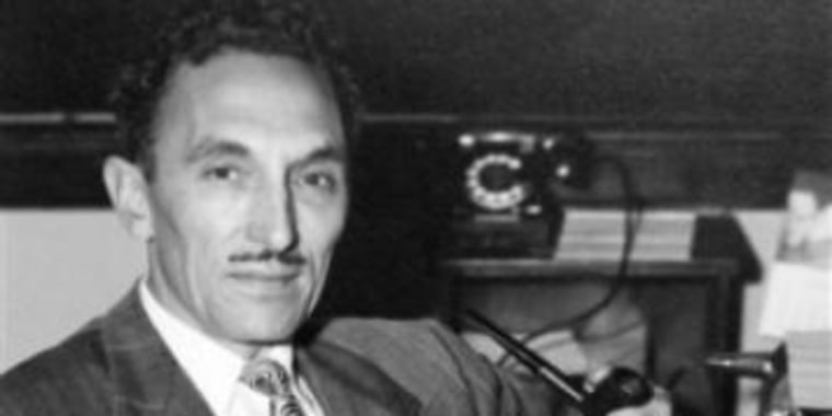Noted scholar and Latino civil rights icon George I. Sanchez.