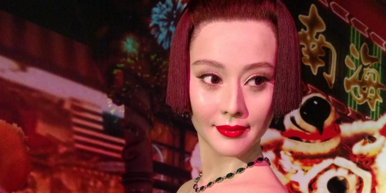 Fan Bing Bing is visiting Madame Tussauds in San Francisco for the Lunar New Year, at least in wax form.