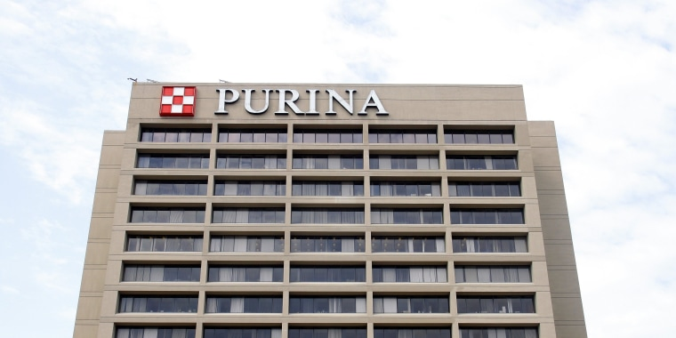 Purina PetCare Company, in St. Louis, Missouri, on Aug. 4, 2012.