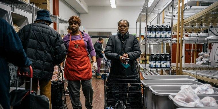 Image: Food pantry client portrait