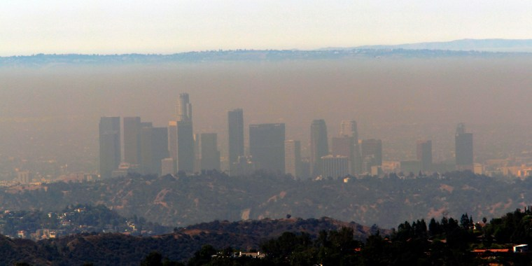 Image: Smog in Los Angeles