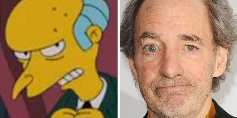 "Mr. Burns from ""The Simpsons"" and actor Harry Shearer"