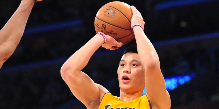 Jeremy lin had to convince arena security he plays in the nba nba brooklyn nets at los angeles lakers jeremy lin m4hsunfo Choice Image