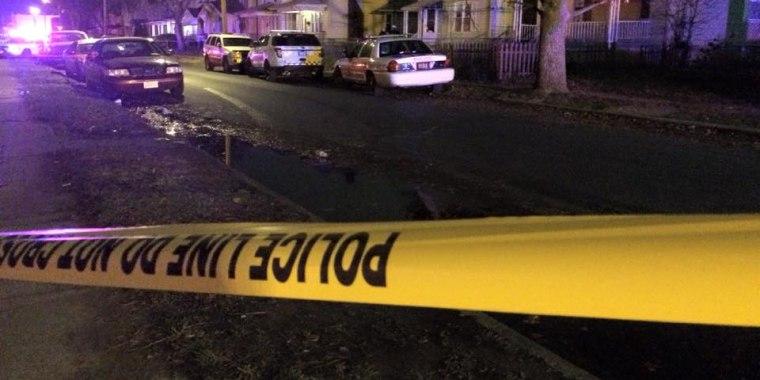 IMAGE: Fatal shooting scene in Columbus, Ohio