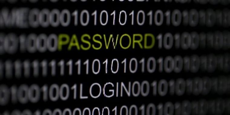 Image: Illustration of the word 'password' on a computer screen