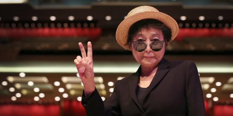 Yoko Ono Launches Her Meltdown Festival