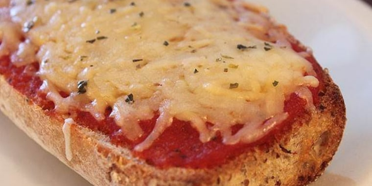 Whole Wheat French Bread Pizza