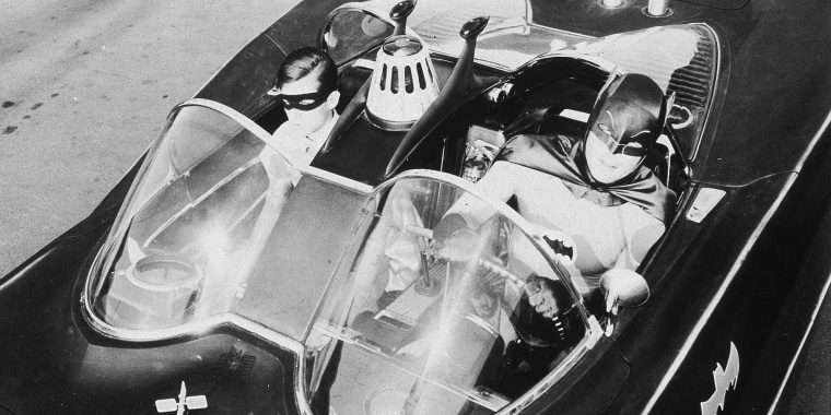 Image: Burt Ward and Adam West as Batman & Robin