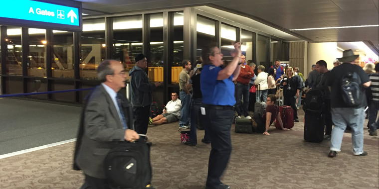 Phoenix Airport-Checkpoint Evacuation