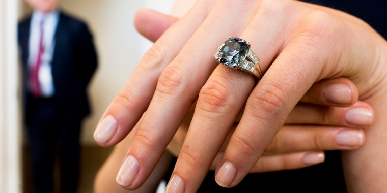 Image: Preview of Shirley Temple Diamond Auction at Sotheby's