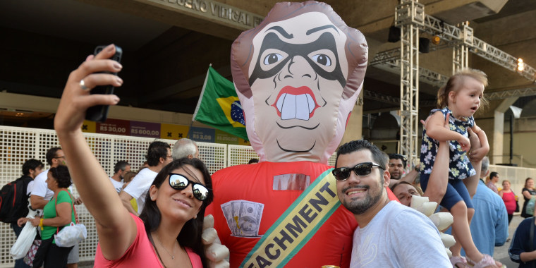 Image: BRAZIL-CORRUPTION-PROTEST