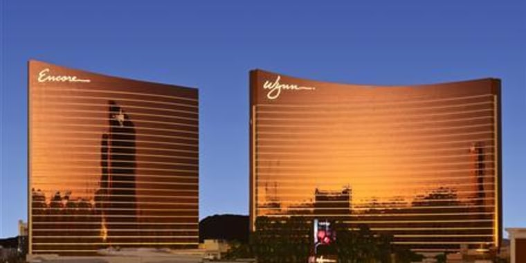 Publicity photo of the Wynn Las Vegas and Wynn Encore Resorts in Las Vegas