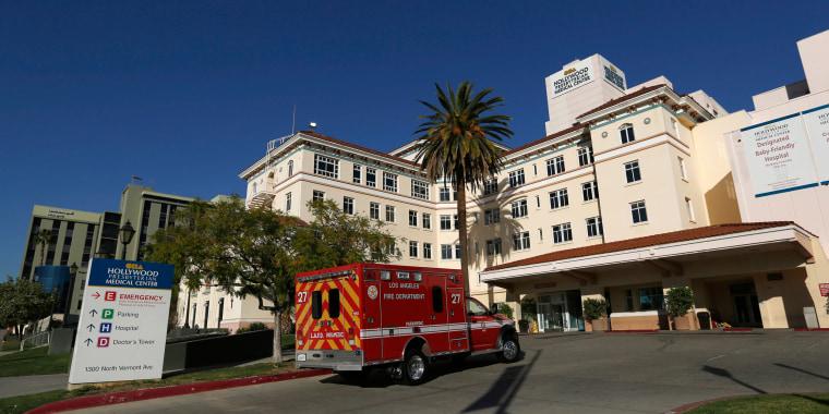 Image: The Hollywood Presbyterian Medical Center