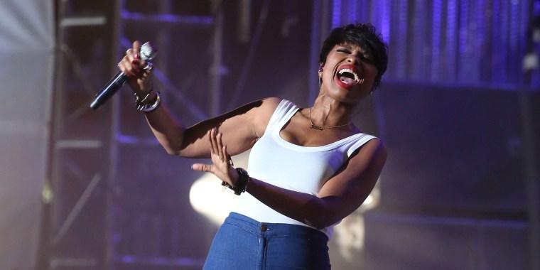 Image: Jennifer Hudson performs