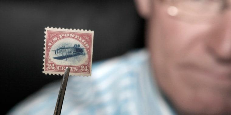"Image: ""Inverted Jenny"" Stamp"