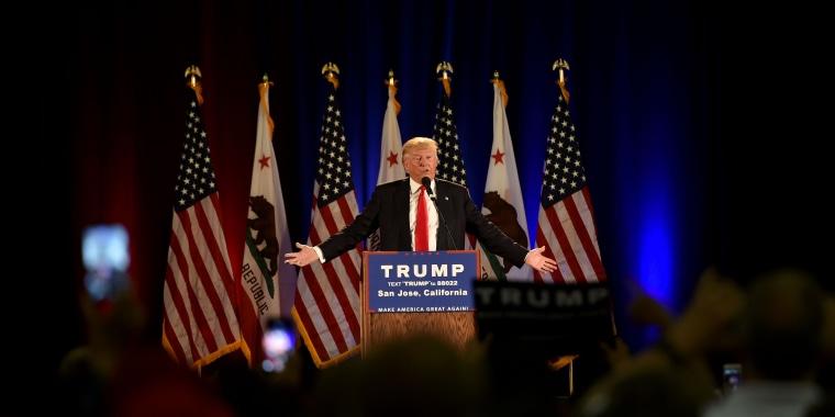 Image: US-POLITICS-VOTE-TRUMP