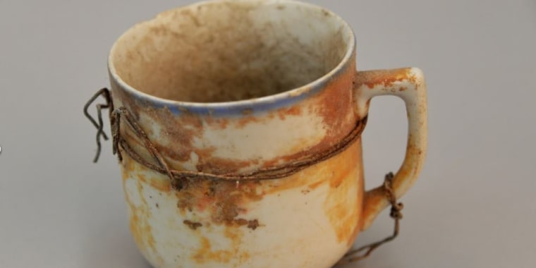 Image: A cup