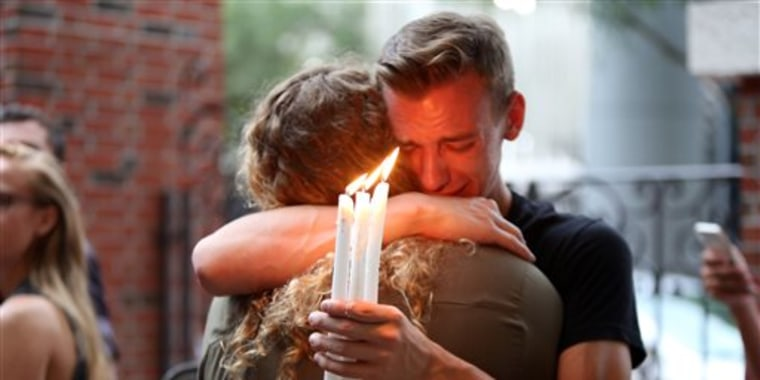 IMAGE: Orlando candlelight vigil