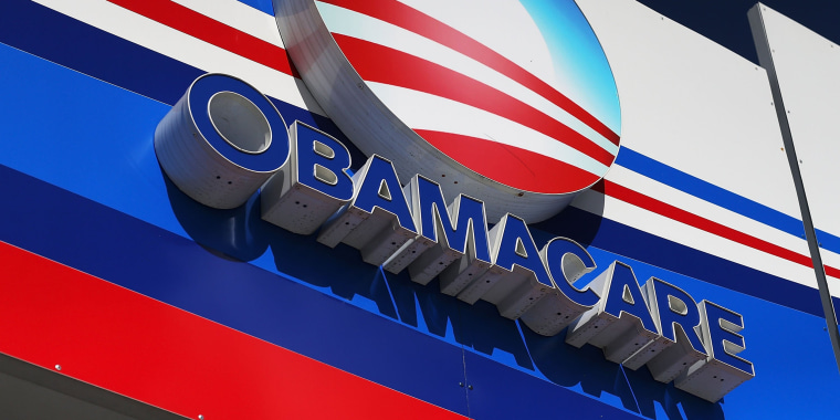 Image: Florida Residents Sign Up For Affordable Care Act On Deadline Day