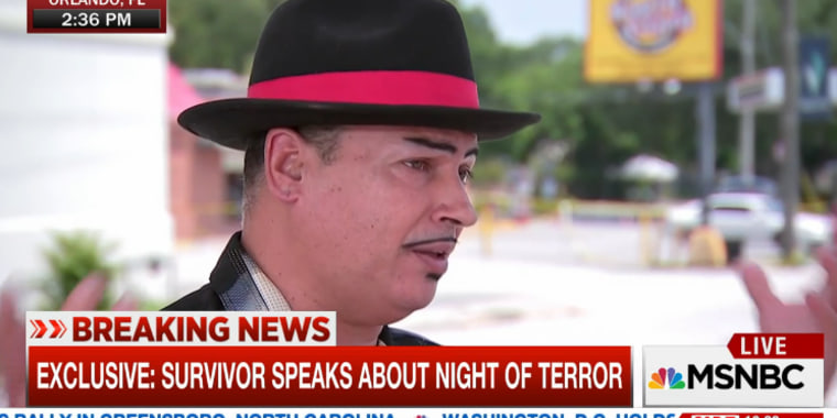 Orlando Torres shares how he survived the Orlando Shooting.