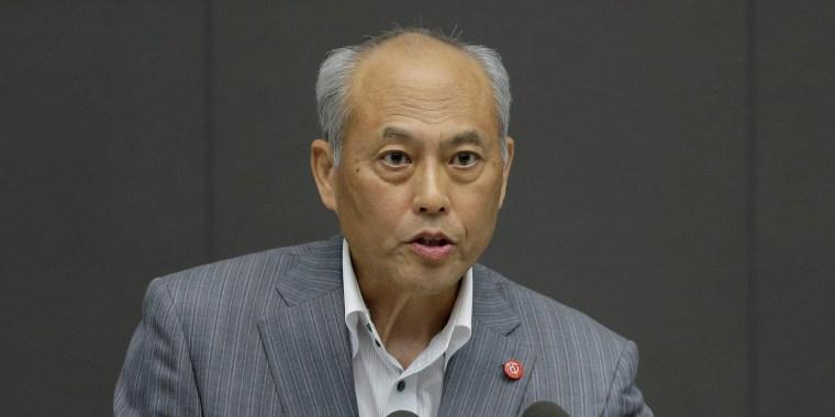 Image: Yoichi Masuzoe steps down as Governor