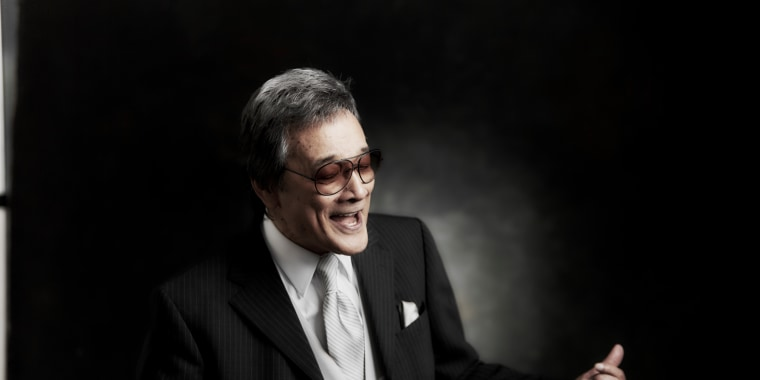 Jimmy Borges, a world-renowned jazz singer, in a photo from his self-titled album. He passed away on May 30 at the age of 80 after a battle with cancer.