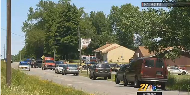 Police investigate shootings at a bar in Warren Township, Ohio.