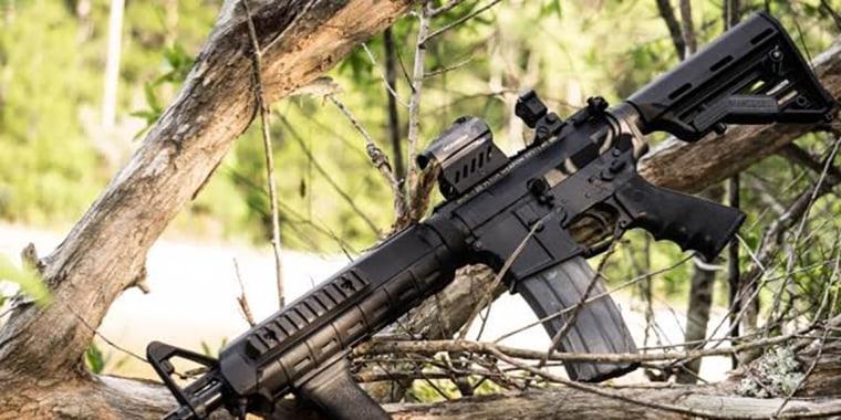 Image: AR-15 semi-automatic rifle