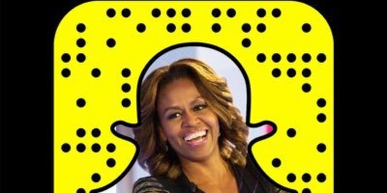 Michelle Obama's Snapchat Avatar