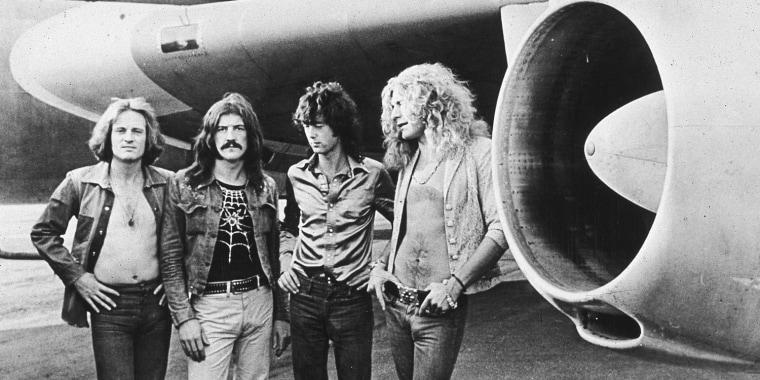 Image: Led Zeppelin in 1973