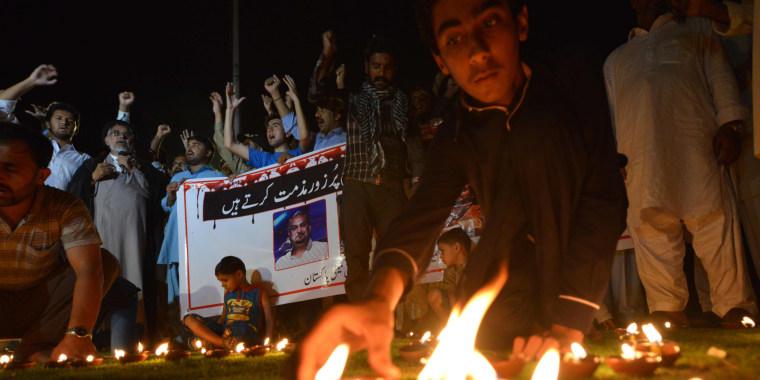 Image: Amjad Sabri tributes