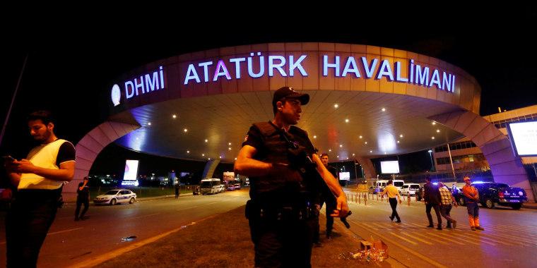Image: Ataturk airport in Istanbul on June 29, 2016
