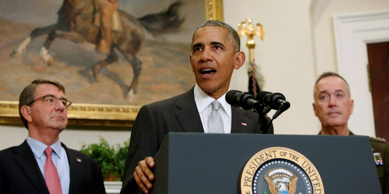 Image: US President Obama delivers a statement on Afghanistan at the White House in Washington