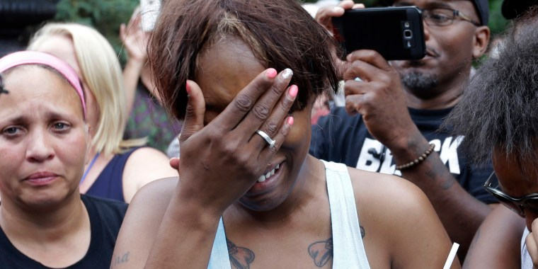 Image: Diamond Reynolds talks about the shooting death of her boyfriend