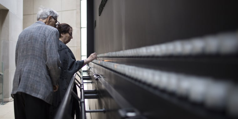 Image: U.S. Holocaust Museum Commemorates Those Killed In WWII Holocaust