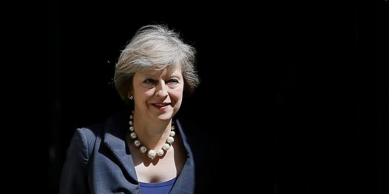 Image: Britain's Home Secretary Theresa May
