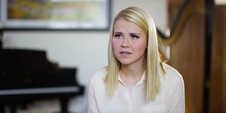 Elizabeth Smart speaks about pornography's role In her abduction.