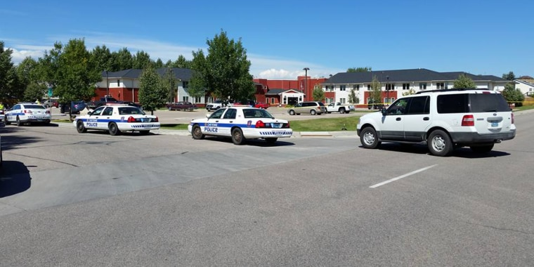 Cheyenne Police respond to an active shooter on Sept. 14.
