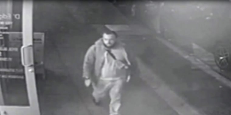 Ahmad Rahami appears in a surveillance video released by New Jersey police.