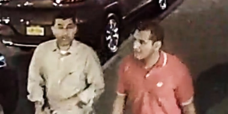 Image: The FBI released an image of two individuals they are seeking for more information related to the New York bombing