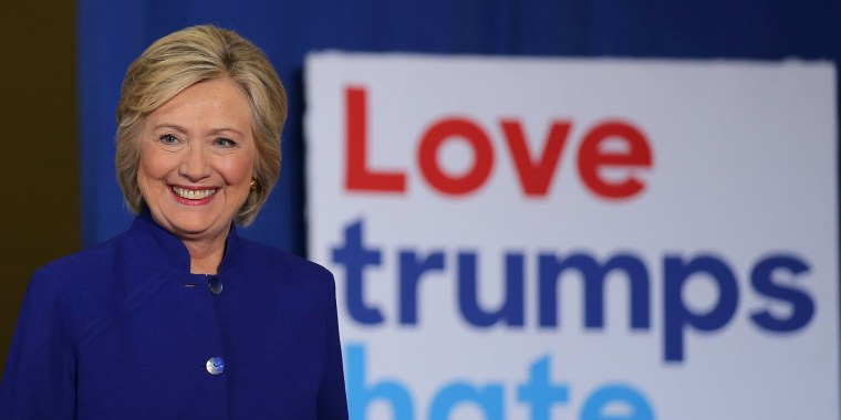 Image: U.S. Democratic presidential candidate Hillary Clinton arrives at a campaign event in Orlando