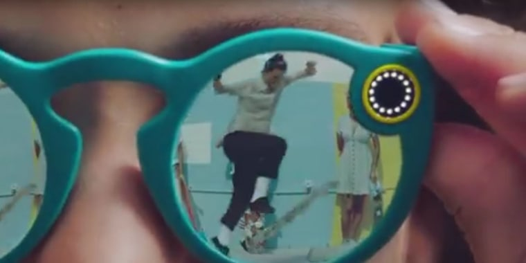 """Snapchat announced the release of sunglasses called Spectacles, Sept 24. """"Spectacles are sunglasses with an integrated video camera that makes it easy to create Memories,"""" the company explained in a statement released on its website. $129.99 a glasses are Bluetooth and WiFi-enabled and can record videos for up to 10 seconds."""