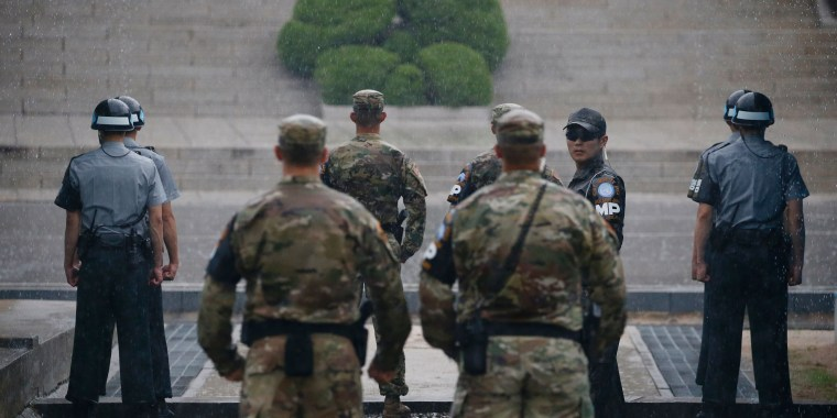 Image: SKOREA-NKOREA-MILITARY-ARMISTICE
