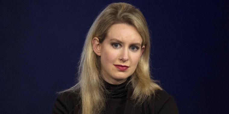 Image: Elizabeth Holmes, CEO of Theranos, attends a panel discussion during  the Clinton