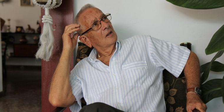 Arsenio Garcia Davila, former fighter alongside Fidel Castro.
