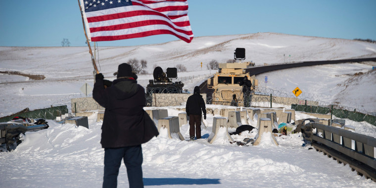 Image: US-ENVIRONMENT-OIL-PIPELINE-PROTEST