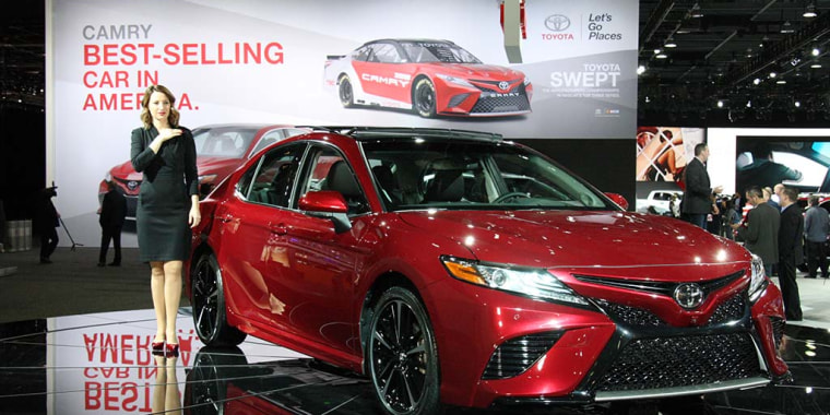 """Credit for the redesigned Camry goes partly to Toyota CEO Akio Toyoda, the grandson of Toyota's founder -- and an amateur race car driver -- who has promised to put more """"passion"""" into its products."""