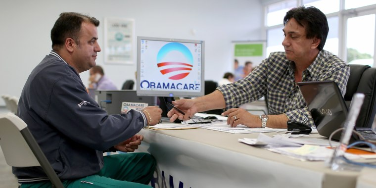 Image: Deadline Approaches To Signup For Health Insurance Under Affordable Care Act