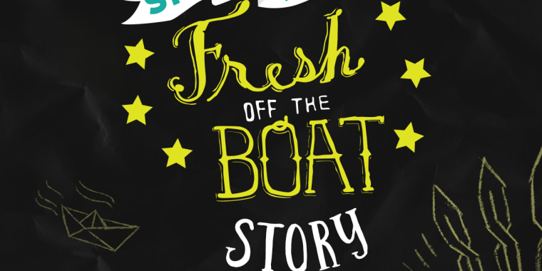 """The """"Fresh Off the Boat"""" television series, Six-Word Memoirs, and Disney Book Group are crowdsourcing a book of six-word memoirs on the immigration experience."""